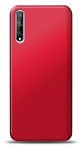 Huawei P Smart S Mat Kırmızı Silikon Kılıf
