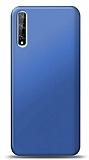 Huawei P Smart S Mat Lacivert Silikon Kılıf
