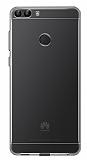 Huawei P Smart Ultra İnce Şeffaf Silikon Kılıf