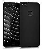 Huawei P10 Lite Mat Siyah Silikon Kılıf