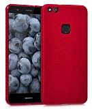 Huawei P10 Lite Mat Kırmızı Silikon Kılıf