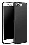 Huawei P10 Mat Siyah Silikon Kılıf