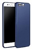 Huawei P10 Mat Lacivert Silikon Kılıf