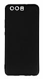 Huawei P10 Plus Mat Siyah Silikon Kılıf
