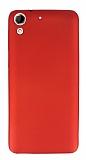 HTC Desire 728G Mat Kırmızı Silikon Kılıf