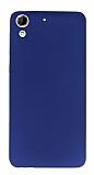 HTC Desire 728G Mat Lacivert Silikon Kılıf