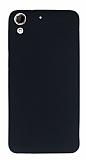 HTC Desire 728G Mat Siyah Silikon Kılıf