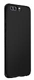 Huawei P10 Plus Tam Kenar Koruma Siyah Rubber Kılıf