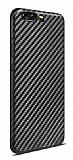 Huawei P10 Ultra İnce Karbon Siyah Kılıf