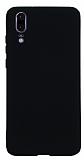 Huawei P20 Mat Siyah Silikon Kılıf