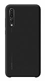 Huawei P20 Pro Orjinal Siyah Silikon Kılıf