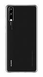 Huawei P20 Pro Ultra İnce Şeffaf Silikon Kılıf