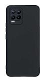 Realme 8 Pro Kamera Korumalı Mat Siyah Silikon Kılıf