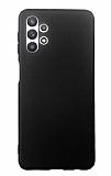 Samsung Galaxy A32 5G Mat Siyah Silikon Kılıf