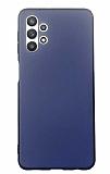 Samsung Galaxy A32 5G Mat Lacivert Silikon Kılıf