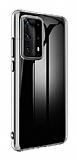 Huawei P40 Pro İnce Şeffaf Silikon Kılıf