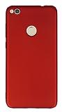 Huawei P9 Lite 2017 Ultra İnce Mat Kırmızı Silikon Kılıf