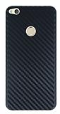 Huawei P8 Lite Ultra İnce Karbon Siyah Kılıf