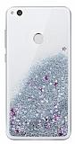 Huawei P9 Lite 2017 Sulu Silver Rubber Kılıf