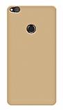 Huawei P9 Lite 2017 Tam Kenar Koruma Gold Rubber Kılıf