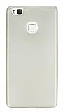 Huawei P9 Lite Mat Gold Silikon Kılıf
