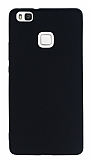 Huawei P9 Lite Mat Siyah Silikon Kılıf