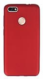 Huawei P9 Lite Mini Mat Kırmızı Silikon Kılıf