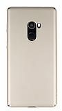 Xiaomi Mi Mix 2 Tam Kenar Koruma Gold Rubber Kılıf