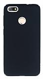 Huawei P9 Lite Mini Tam Kenar Koruma Siyah Rubber Kılıf