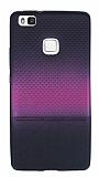 Huawei P9 Lite Pembe Noktalı Ultra İnce Silikon Kılıf