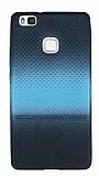 Huawei P9 Lite Mavi Noktal� Ultra �nce Silikon K�l�f