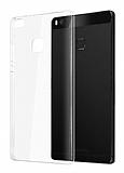 Huawei P9 Lite Şeffaf Kristal Kılıf