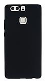 Huawei P9 Mat Siyah Silikon K�l�f