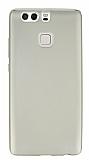 Huawei P9 Mat Gold Silikon K�l�f