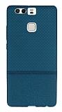 Huawei P9 Ultra �nce Noktal� Ye�il Silikon K�l�f