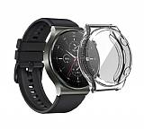 Huawei Watch GT 2 Pro Ekran Korumalı Şeffaf Silikon Kılıf