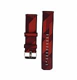 Huawei Watch GT 2e Desenli Kırmızı Kumaş Kordon (46 mm)