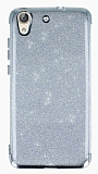 Huawei Y6 ii Simli Silver Silikon Kılıf