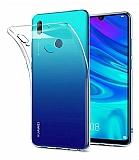 Huawei Y6 Pro 2019 Ultra İnce Şeffaf Silikon Kılıf