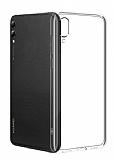 Huawei Y7 2019 Ultra İnce Şeffaf Silikon Kılıf