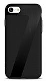 ICON iPhone 7 Deri Siyah Rubber Kılıf