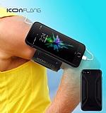 ICON Racer iPhone 7 Kol Bandı Özellikli Ultra Koruma Siyah Kılıf