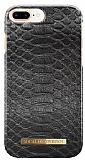 iDeal of Sweden iPhone 6 Plus / 6S Plus / 7 Plus / 8 Plus Black Reptile Kılıf