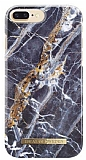 iDeal of Sweden iPhone 6 Plus / 6S Plus / 7 Plus / 8 Plus Midnight Blue Marble Kılıf