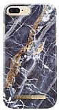 iDeal of Sweden iPhone 6 Plus / 6S Plus / 7 Plus / 8 Plus Midnight Blue Marble Kılıf