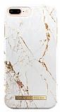iDeal of Sweden iPhone 6 Plus / 6S Plus / 7 Plus / 8 Plus Carrara Gold Kılıf