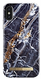 iDeal of Sweden iPhone X / XS Midnight Blue Marble Kılıf