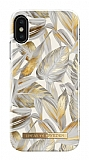iDeal of Sweden iPhone XS Max Platinum Leaves Kılıf