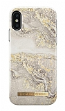 iDeal of Sweden iPhone XS Max Sparkle Greige Marble Kılıf