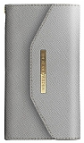 iDeal of Sweden Myfair Clutch iPhone 6 / 6S / 7 / 8 Light Grey Kılıf